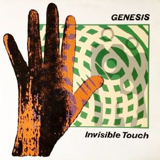 Genesis ‎- Invisible Touch (LP) (G++/EX)